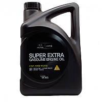 Масло двс 5w30 4 л super extra gasoline п/с (05100-00410) mobis (производство Hyundai-KIA ), код запчасти: 0510000410