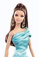 Коллекционная кукла Барби Высокая мода Barbie The Look Green Dress