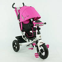 """Детский 3х колесный велосипед с ручкой Best Trike 6588 В: колеса 10 и 12"""", 100х55х85 см, розовый"""