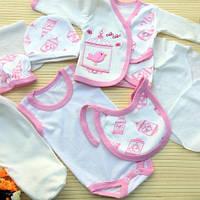 Комплект для новорожденного 8 предметов одежды