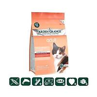 Корм беззерновой для взрослых кошек со свежим лососем и картофелем 0,4кг
