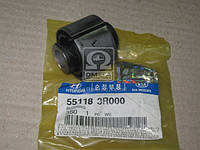 Сайлентблок заднего поперечного рычага (производство Hyundai-KIA ), код запчасти: 551183R000