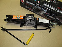 Домкрат механический 1т. 100 / 350мм. с резинкой  (производство Дорожная карта ), код запчасти: DK52-103A