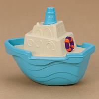 Игрушка для игры с песком и водой - МИНИ-КОРАБЛИК (цвет морской)
