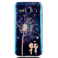 Чехол накладка для Samsung Galaxy Core Prime G360H силиконовый IMD Blu-ray, Дети и одуванчик