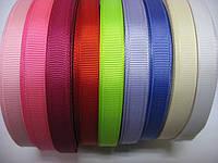 Бант-спиральки, репсовая лента 0,9 см фиолетовая