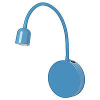 BLÅVIK Светильник уличный СВЕТОДИОДНЫЙ, на батарейках синий