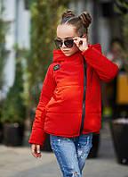 """Теплая детская куртка для девочки """"Roxy"""" с карманами и капюшоном (3 цвета)"""