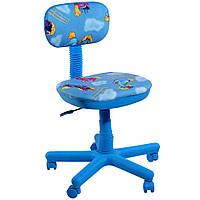 Кресло детское Свити голубой Пони голубые (АМФ-ТМ)