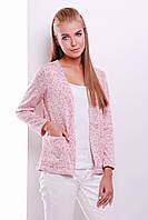 Стильная и комфортная женская кофточка вязаная,тонкий трикотаж .В расцветках.