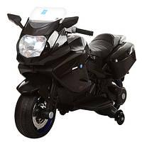 Мотоцикл детский Bambi M 3208EL-2 черный (@)