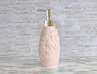 Дозатор для мыла Irya - Lisa розовый