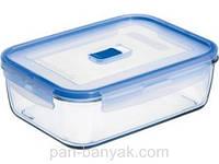 Pure Box Контейнер для еды прямоугольный 1220мл ударопрочное стекло Luminarc