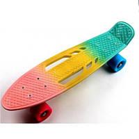 Пенни борд Penny Board Classic Tricolor