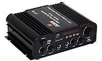 Усилитель Звука AV V 8 Bluetooth USB FM am