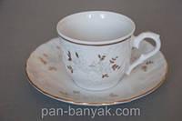 Rococo 9705 Набор кофейный 12 предметов 100мл фарфор Cmielow