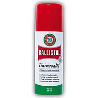 Средства по уходу за оружием. Масло оружейное Klever Ballistol Spray универсальное 50ml