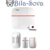 Сигнализация GSM-900 c WiFi модулем, комплект беспроводная, Tesla Security