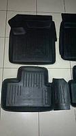 Коврики автомобильные для Lada 2110,2112,2170, Приора(ВАЗ), резиновые с бортами