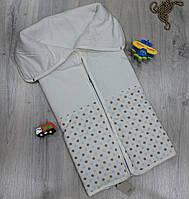 Детское одеяло - трансформер, конверт для новорожденного, материал велюр синтипон, сезон осень- весна, BONNE B
