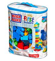 Конструктор Мега Блокс в сумке 80 деталей Первые строители Классический