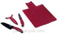 Набор ножей 4 предмета нержавейка с антипригарным покрытием Petergoff
