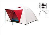Двухслойная, трехместная палатка ZELART SY-014