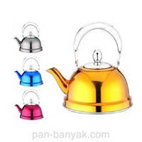 Чайник заварочный 0,7л нержавейка Petergoff