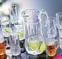 Brighton Набор для воды (кувшин 1,8л+ стакани 270мл-6шт) 7 предметов стекло Luminarc