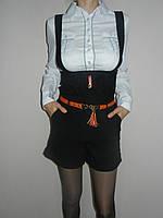 Комбинезон школьный черный стрейч р. 36, 40, 44 Yinshifu 33152