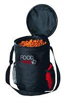 Trixie TX-2490 сумка для сухого корма (нейлон) 2,5кг+миска дорожная