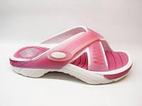 Шлепанцы женские пляжные розовые Rider Б738
