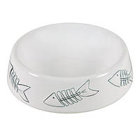 Trixie TX-24496 миска для кота (керамика) 0,2л/15см