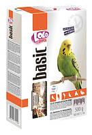 Полнорационный корм для волнистых попугаев LoLo Pets (Лоло Петс) basic for BUDGIE, 500 гр