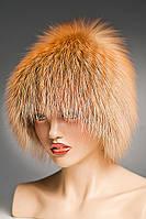 Меховая шапка Стриха из рыжий Лисы