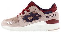 Женские кроссовки Asics Gel Lyte 3 (асикс гель лайт) бежевые