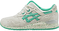 Женские кроссовки Asics Gel Lyte 3 (асикс гель лайт) белые
