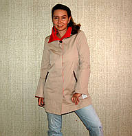 Плащ-куртка Ellen Trecy кремовый беж   (XS/S)