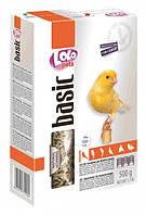 Полнорационный корм для канареек LoLo Pets (Лоло Петс) basic for CANARY, 500 гр