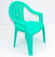 Бирюзовое кресло для ребенка