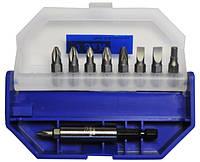 S&R 251512710 Набор отверточных бит S&R 10 шт ( PH,PZ,SL,HX)