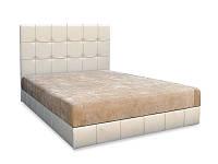 Магнолия Кровать с матрасом (180х200) мебельная ткань
