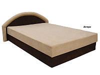 Ривьера Кровать с матрасом (160х200) мебельная ткань