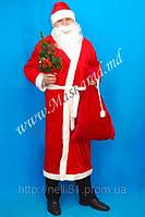 Карнавальный костюм «Дед Мороз» меховой