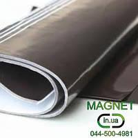 Магнитный лист 0,7мм с клеевым слоем
