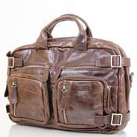 Мужская кожаная сумка-рюкзак (трансформер) ETERNO (ЭТЭРНО) ET1011B