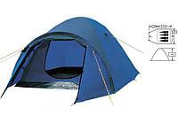 Двухслойная, четырехместная палатка ZELART FRT-211-4  с тамбуром.