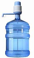Бутыль пластиковый для питьевой воды, объем 18,9 литров + Помпа