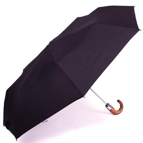 Зонт мужской автомат ZEST (ЗЕСТ) Z13840 черный, антиветер