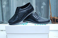 Туфли кожаные натуральные для мальчика ,подростка 35- 39 . Украина
